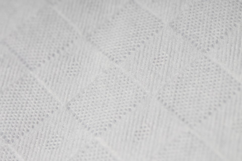 embossed pattern for wet wipe